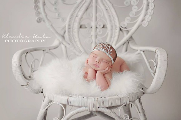 Exclusive headband with crown- perfect as a photo prop