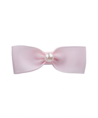 Small single bow with pearl -various colours